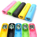 NEW Colorful Universal DIY18650 Power Bank Case Kit DIY Cell Box Portable External Battery Charger for Mobile Phone (NO Battery)