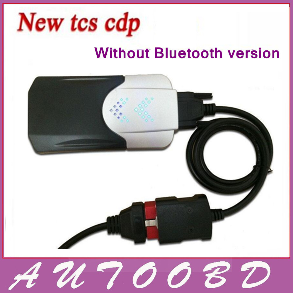 ФОТО Black New TCS CDP+ 2015.R1/ 2015.R3 Professional Powerful CDP PRO TCS Plus LED Display 3in 1 Cars/Trucks/Generic Diagnostic Tool