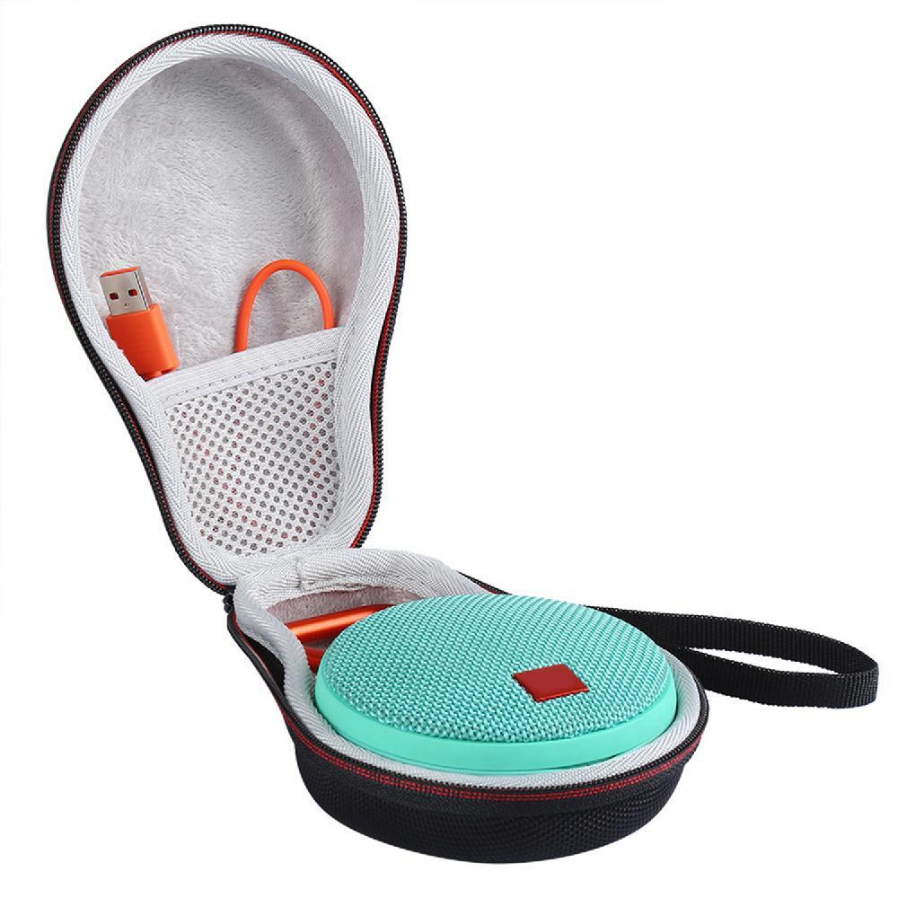 Storage Case Shockproof Dustproof Hard Shell Protective Storage Case Bag For JBL Clip 2 3 Clip2 Clip3 Bluetooth Speaker R25