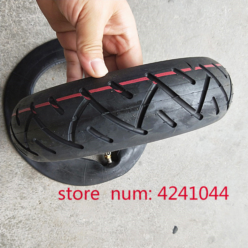 high quality 10 inch Pneumatic <font><b>Tire</b></font> for Electric Scooter and Speedway 3 with inner tube 10x2.50 inflatable Tyre image