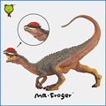 Mr. froger dilophosaurus modelo de juguete dinosaurio lindo movable juguetes clásicos niños modelos animales pvc plástico jurásico recoger diy