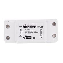 10 pcs/lot Sonoff 433Mhz RF WiFi sans fil commutateur intelligent maison avec récepteur RF télécommande commutateur de synchronisation intelligent contrôle sans fil
