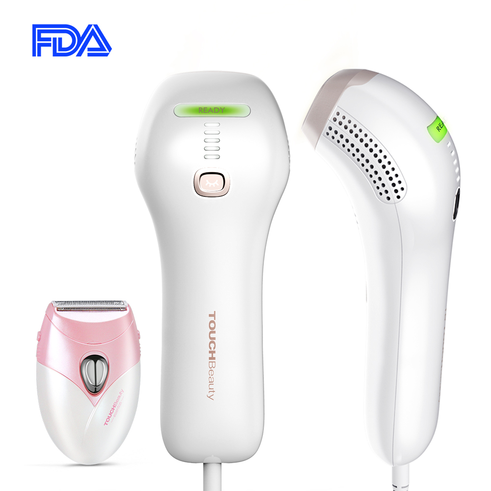 TOUCHBeauty IPL Hair Removal System Light Epilator, Permanent Visible Laser Hair Removal For Body, Bikini, Underarms