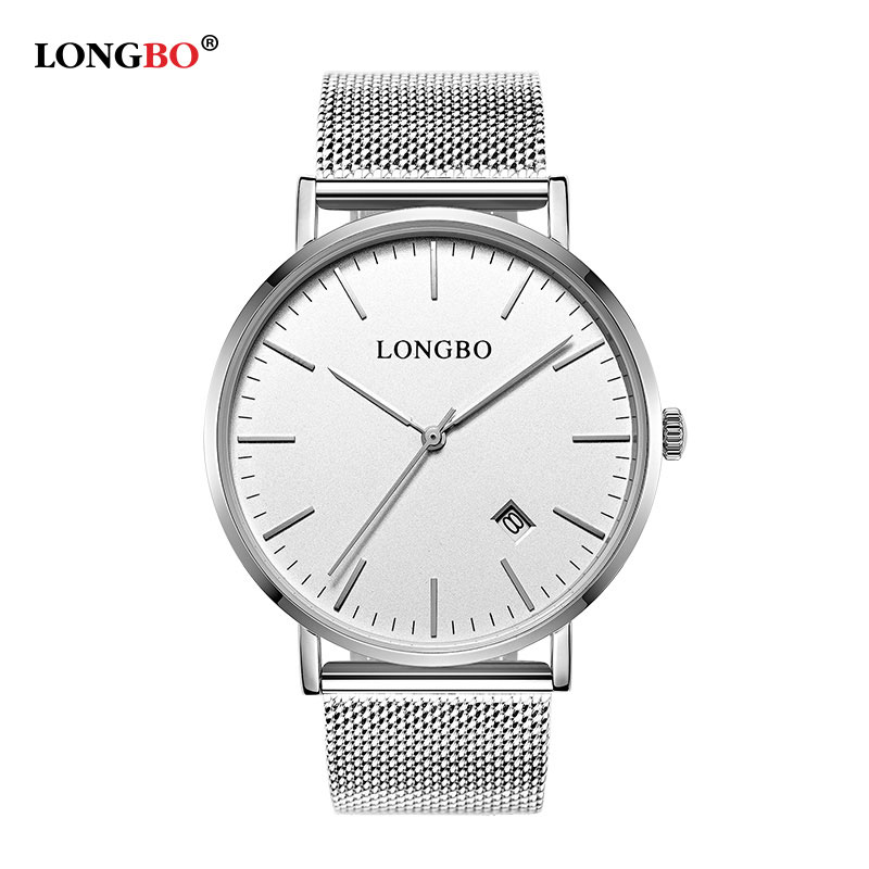 LONGBO 2017 Quartz Watch Men Top Brand Luxury Date Mens Wrist Watches Male Clock Wristwatch for Man Hodinky Relogio Masculino orkina 2016 mens watches top brand luxury rose gold wrist watch men dress quartz auto date man business clock relogio masculino