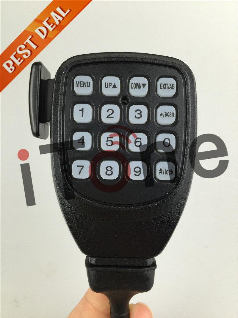 bilder für Lautsprecher Mikrofon QYT KT8900 Handheld Lautsprecher Mic Mini Moblie Radio KT8900 Headset Zubehör PTT Handfree Lautsprecher Mikrofon
