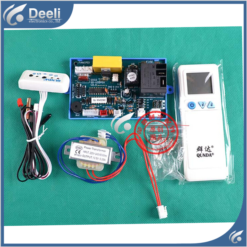 ФОТО 95% new good working for QD-U05PGX Guiji air conditioning Computer board control panel universal panacea modified strip display