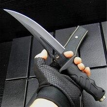 Черный тактический прямой нож с ручкой из волокна EVERRICH G10, черный острый охотничий нож, нож для дайвинга+ нейлоновый рукав