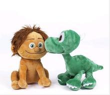 חדש 22cm pixar דינוזאור טוב 2018 arlo ספוט דינוזאור ארלו קטיפה צעצועים בובה ממולאים צעצועים לילדים brinquedos מתנה חינם משלוח
