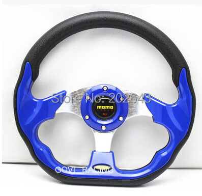 yellow performance racing Steering wheel with pu or pvc leather steeting wheel car auto 13320mm vw passat b6 steering-wheel