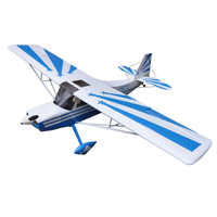 "Vlucht-Model Decathlon 72 ""Balsahout 4 Kanalen ARF Elektrische Fixed Wing RC model Vliegtuig 4 kleur"