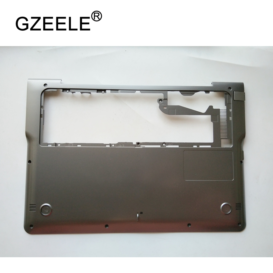 GZEELE NEW Laptop Bottom Base Case Cover for Samsung 530U3B 530U3C 535U3C NP530U3B NP530U3C NP535U3C Silver grey lower case new for samsung 530u3c 530u3b 532u3c 535u3c lcd bezel cover ba75 04131a
