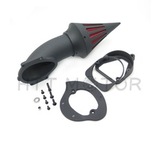 цена на motorcycle parts Spike Air Cleaner Kits intake filter for Honda  Spirit ACE 750 1998-2013 BLACK