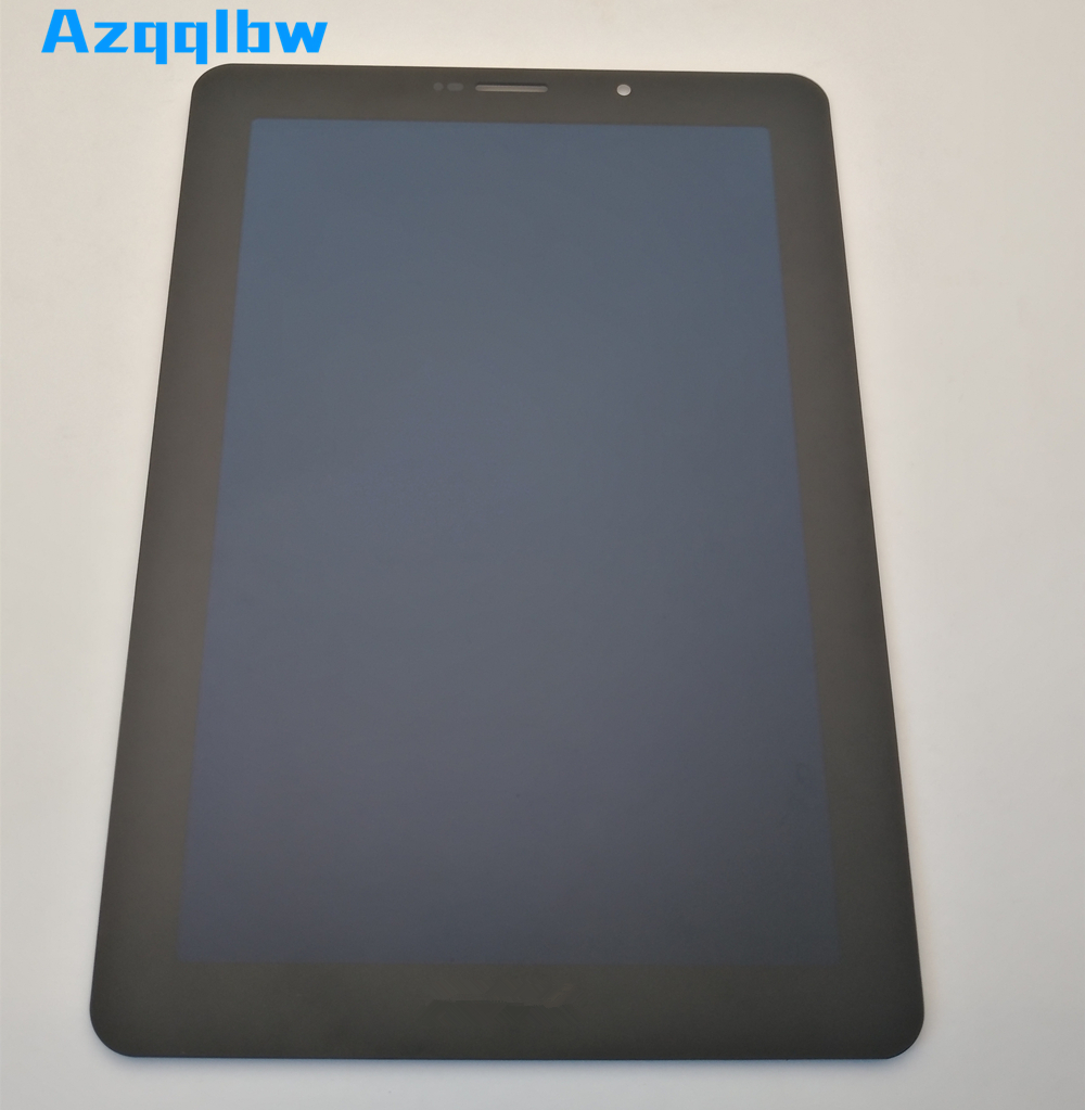 """Azqqlbw 7.7"""" LCD Display + Touch Digitizer Screen glass For Samsung Galaxy  Tab P6800 with"""