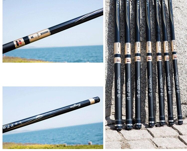 Leve Alta Pólo De Carbono De Pesca