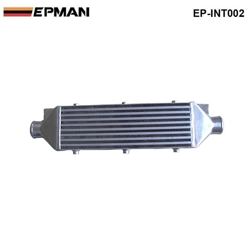 EPMAN - Intercooler  (core size:460*160*90) EP-INT002 epman universal 3 aluminium air filter turbo intake intercooler piping cold pipe ep af1022 af