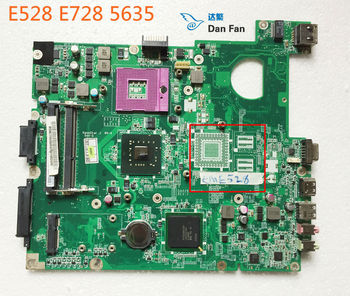 MBNC706002 For ACER 5635 eMachines E528 E728 Laptop Motherboard DA0ZR6MB6F0 Mainboard 100%tested fully work