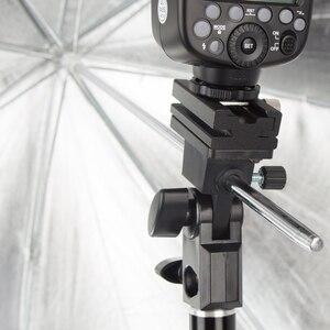 """Image 5 - Godox taşınabilir 95cm 37.5 """"sekizgen şemsiye Softbox petek izgara ile, ışık standı, sıcak ayakkabı tutucu braketi flaş Speedlight"""