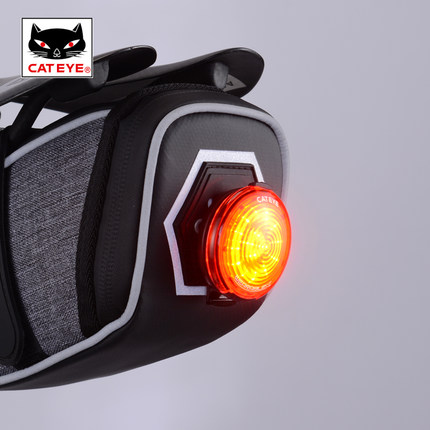 CATEYE bicycle laser taillight, USB charging, waterproof mountain bike taillight, LED bicycle, riding equipment bicycle light headligh glare t rechargeable led 10w mountain bike bicycle riding equipment accessories