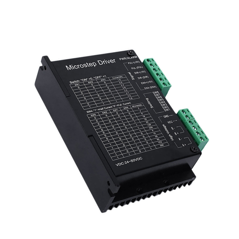 DM542A 2/4 Phase Stepper Motor Driver 128 Micsteps 4.2A Microcontroller CNC VDC --M25