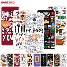 HAMEINUO friends tv Cover phone Case for Meizu M6 M5 M5S M2 M3 M3S MX4 MX5 MX6 PRO 6 5 U10 U20 note plus