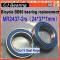 MR2437 2RS(24*37*7 mm) bb90 bottom bracket  repair parts bearing MR2437-2RS