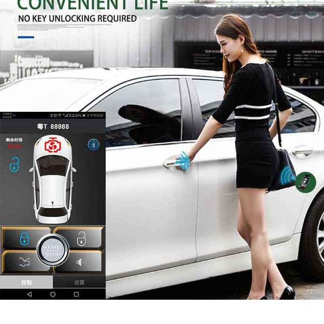 Cheap car alarm keyless entry system car alarm system Central lock Trunk Automatic unlock Easy to control the trunk Convenient MP686