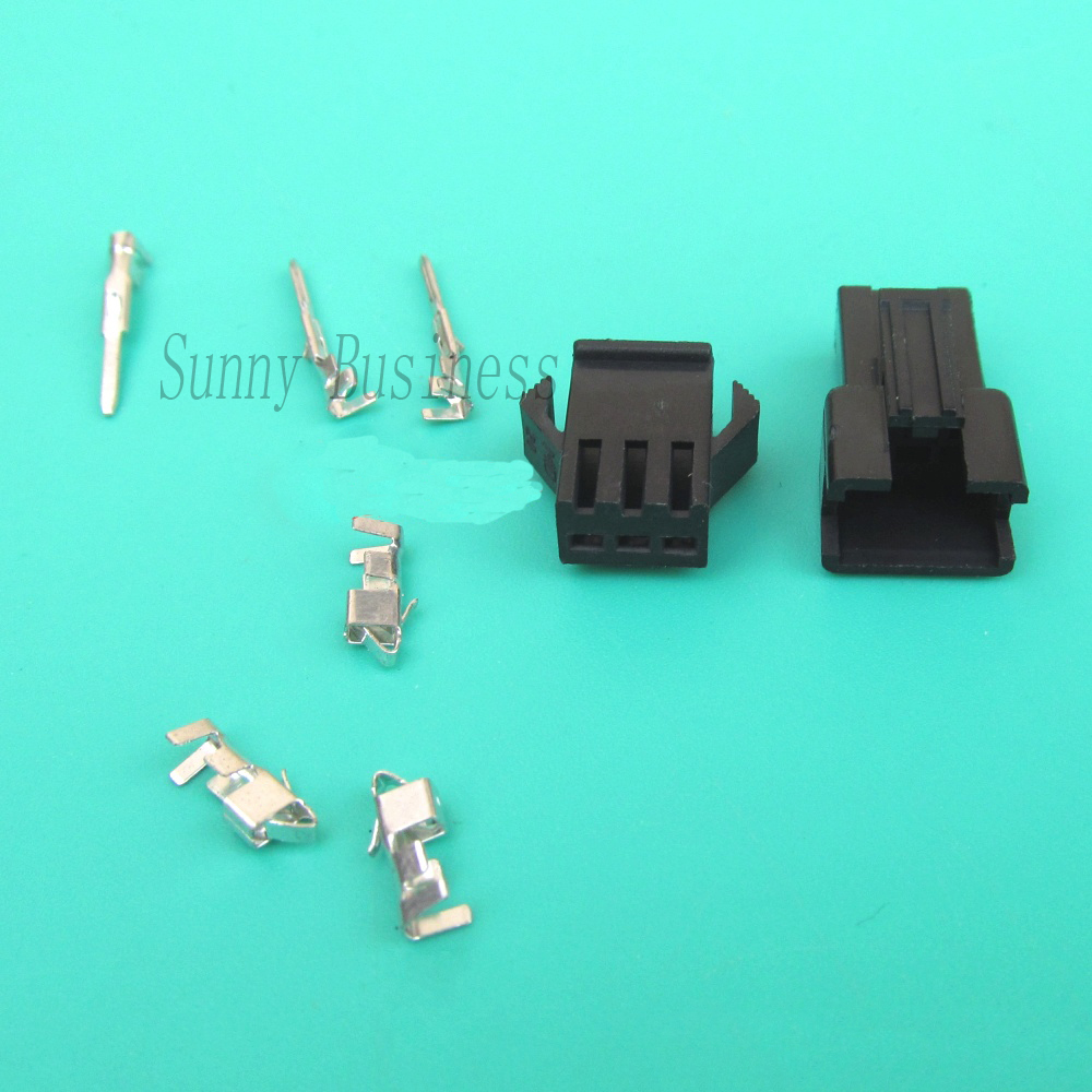 50Sets pcs JST 2.54mm Dupont Wire Cable Jumper Pin Header Connector Housing SM Male Crimp Pin Terminal 50sets pcs jst 2 54mm dupont wire cable jumper pin header connector housing sm male crimp pin terminal