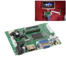AT070TN90/92/94 7 polegada VGA 50pin LCD Placa Motorista LCD Placa Controladora LVDS TTL