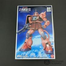 Bandai FG 02 1/144 MS 06S C HarของZaku IIมือถือสูทสมัชชากันดั้มรุ่นชุด