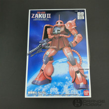 Bandai FG 02 1/144 MS 06S Chars Zaku II Mobile Suit Assembly Gundam Model Kits