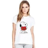 С рисунком Пикачу Дэдпул вспышка Милая летняя плюс размер свободная О-образным вырезом Женская пижама женская одежда повседневная футболк...