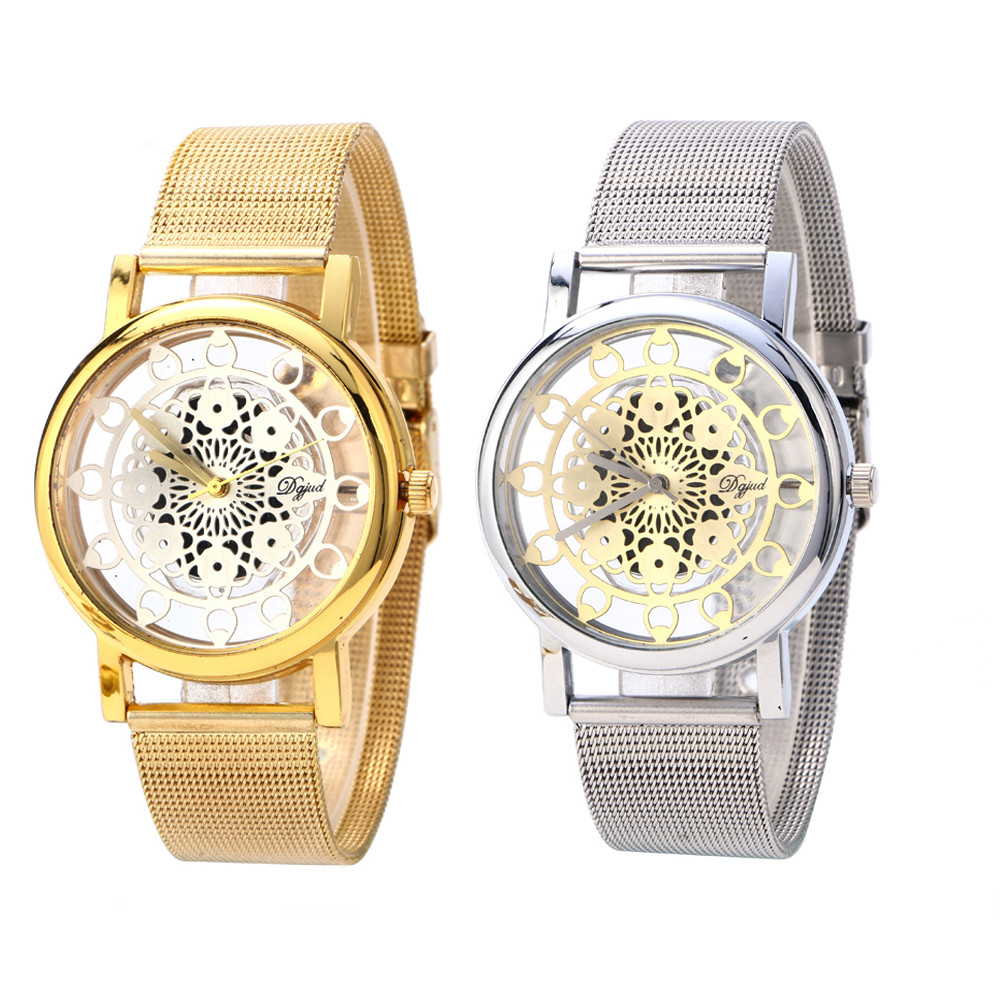 Automatic Mechanical Watch Women Wristwatch Leather Band Fashion Casual Female Watch Lady   3.12#45