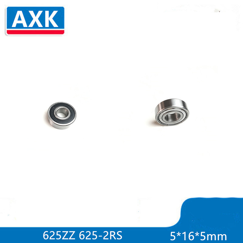 10pcs free shipping 625 zz abec5 Miniature deep groove ball bearing 625ZZ 5*16*5 mm