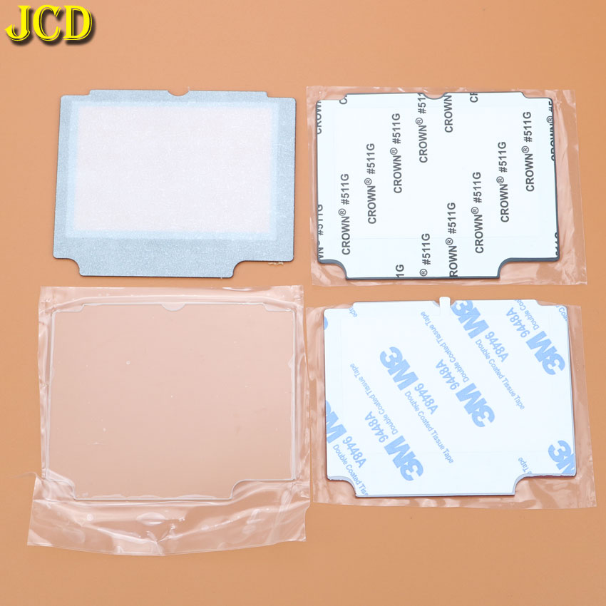 Image 2 - JCD 1pcs Plastic Glass Lens For GBA SP Screen Lens cover For Nintend Gameboy Advance SP Lens Protector W/ Adhensive-in Replacement Parts & Accessories from Consumer Electronics