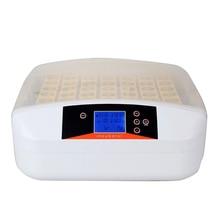 Мини цифровой куриный инкубатор 56 яйца поворота питомнике лоток Intelligent инкубатория инструменты промышленные автоматизированная ферма Хэтчер