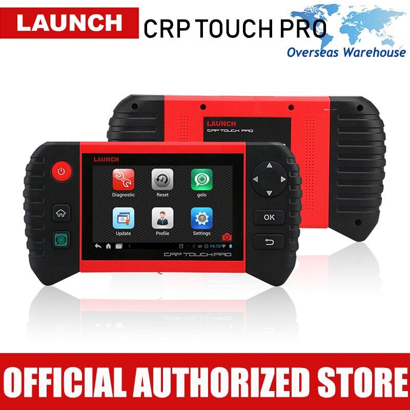 Запуск CRP Touch Pro автомобильный диагностический инструмент полная система Диагностика сканер Авто Диагностика тормозное масло Сброс DPF