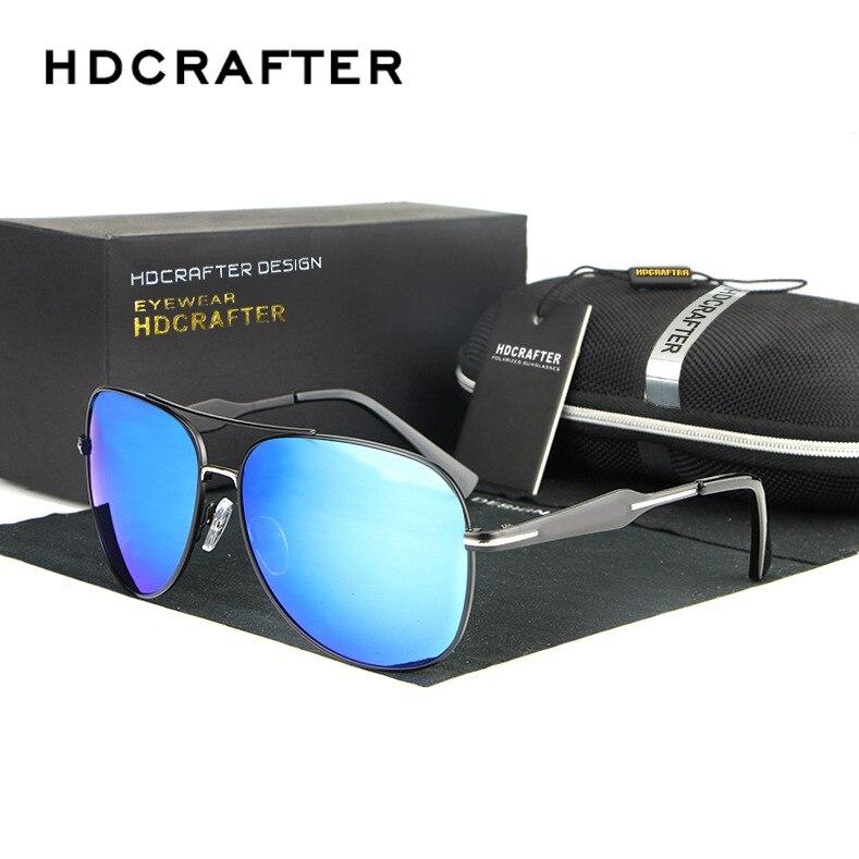 HongTeng Polarized Sunglasses Fashion Big Box Mens Driving Casual Sunscreen UV Protection Eyewear Color : Black Frame Black Gray Piece