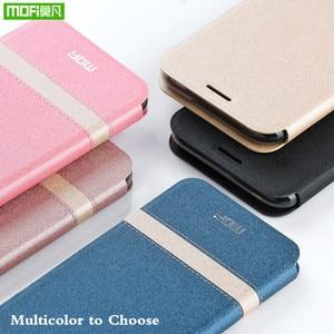 Image 2 - MOFi Flip Case Huawei onur 10 Lite için PU deri TPU Flip kapak Flip telefon kılıfı için Huawei onur 10 Lite coque çapa konut