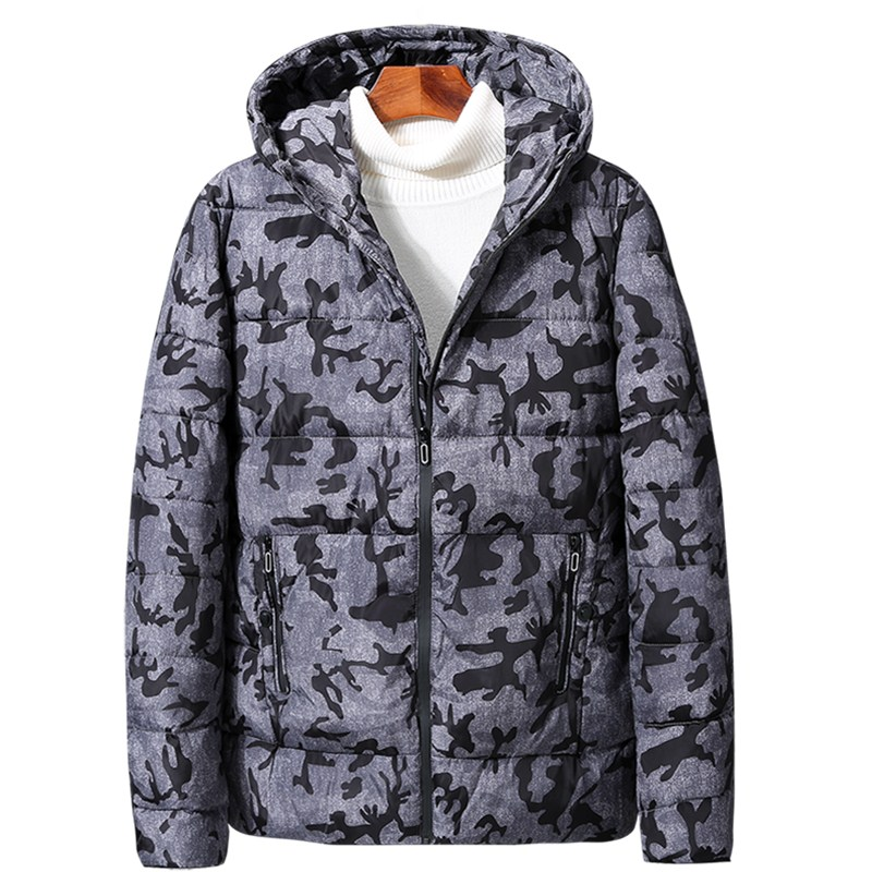 Brieuces Winter men camouflage jacket men down cotton jacket coat man loose cotton jacket plus size <font><b>6XL</b></font> <font><b>7XL</b></font> 8XL <font><b>9XL</b></font> image