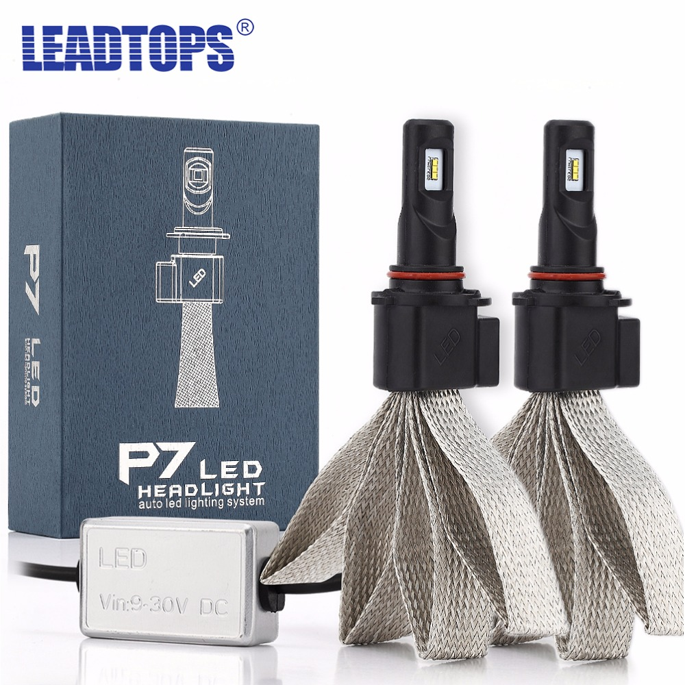LEADTOPS LED Car Headlights H7 H4 H13 880 LED H8/H11 HB3/9005 HB4/9006 9007 60W 9600LM Auto Front Bulb Automobiles lamps EE new 2016 2pcs xml2 car led 12 24v 2000lm car lamps headlights fog light h7 h11 h8 hb3 hb4 9005 9006 free shipping