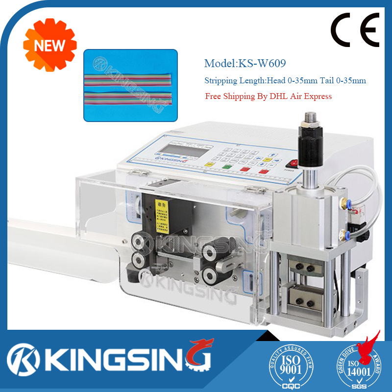 Automatic Computer Flat Cable Slitting Cutting Stripping