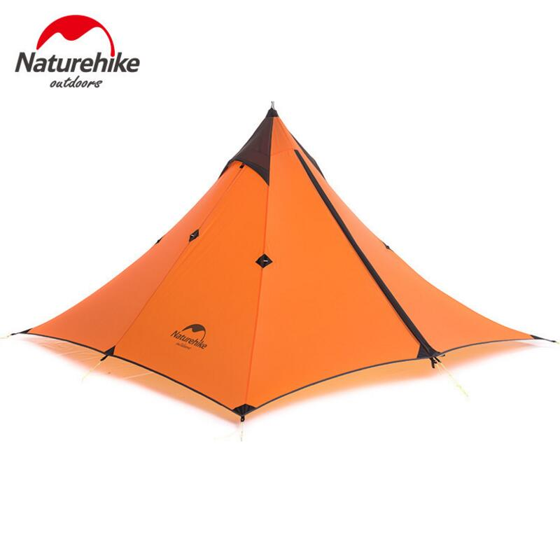 Naturehike Ultralight Outdoor Tent 1 Person Waterproof 20D Silicone Tourist Travel Camping Hiking Tent Winter Tents NH17T030 L