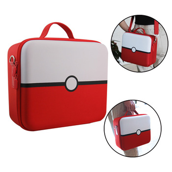 Multifunction Storage Travel Carrying Bag Protective Cover Hard Shoulder Box Poke Ball Plus Case for Nintend Switch NS/X Console