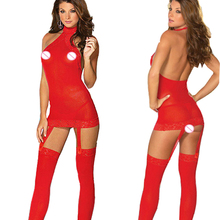 Sexy lingerie hot 4 colors Perspective gauze