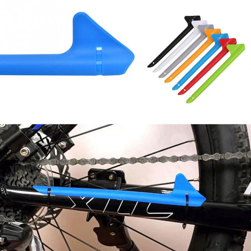 New Mountain Bike Bicycle Frame Chain Stay Posted Protector Bicycle Bike Chain Guard Protection Cycling Accessories acacia 6355 fabrics bike bicycle chainstay protector w velcro black
