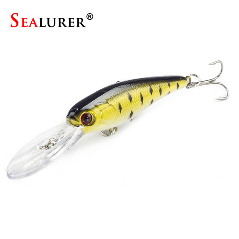 Sealurer 8g 9cm Floating Hard Fishing Minnow Lures Τεχνητό - Αλιεία