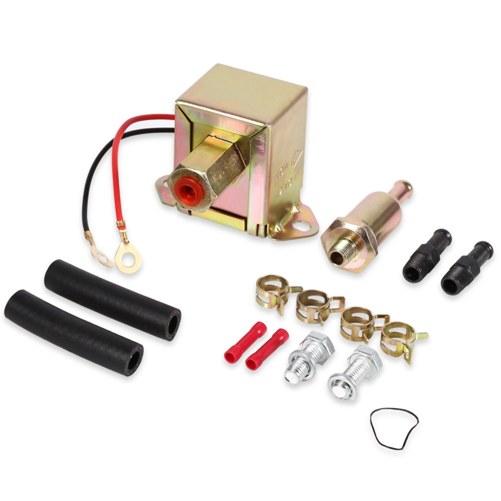 medium resolution of 12v universal electric fuel pump inline filter diesel petrol engine pump facet copper or gasoline petrol desel and ethanol etc in pumps from home