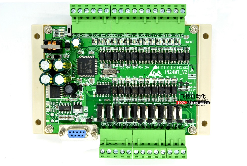 все цены на PLC industrial control board 24MT FX1N 4 way pulse output онлайн