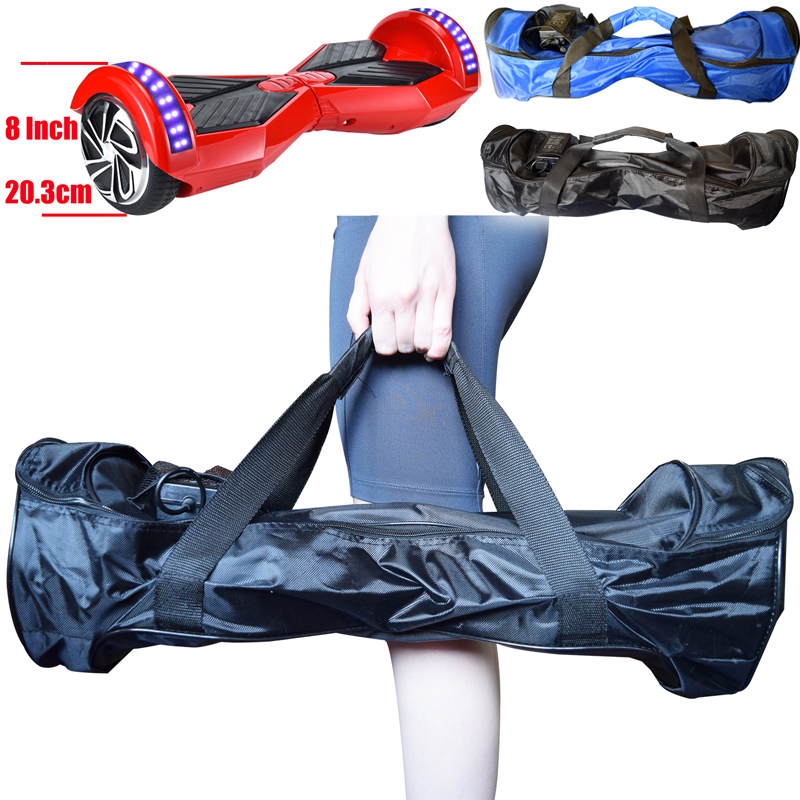 """Prix pour Portable 8 """"Hoverboard Sac Cas 8 Pouce 2 Roues Électrique Auto Équilibre Scooter Main Sac de Transport avec Chargeur de Poche Bleu et Noir"""