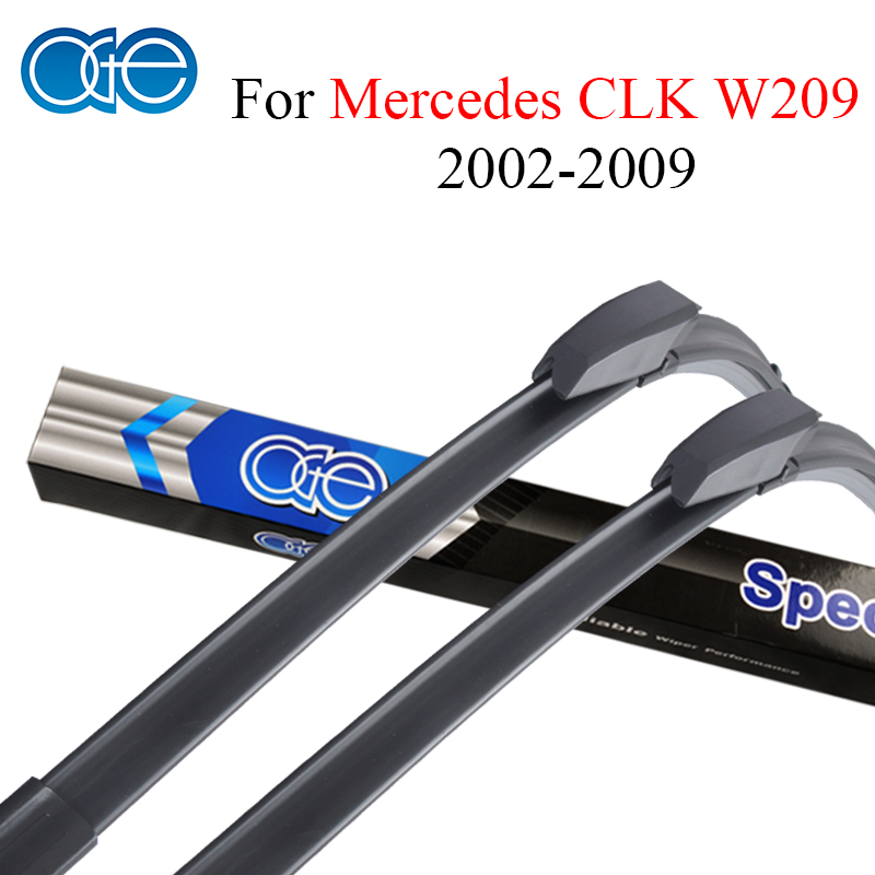 Oge Wiper Blades For Mercedes CLK Class W209 2002-2009 High Quality Rubber Windshield Car Accessories цена